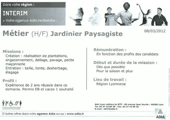 application letter sample  modele de lettre de motivation ouvrier paysagiste